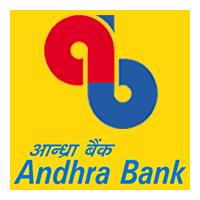Andhra Bank And ATM in Bhopal, India