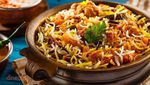 Biryani restaurants in Bhopal, India