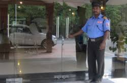 Security services for office in Indore, India
