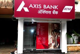 Axis Bank ATM in Bhopal, India