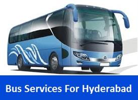 Bus Services For Hyderabad in Bhopal, India