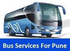 Bus Services For Pune in Bhopal, India