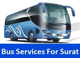 Bus Services For Surat in Bhopal, India