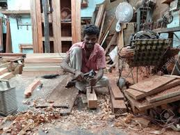Carpenters in Bhopal, India