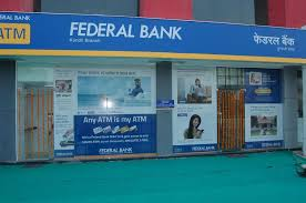 Federal Bank ATM in Bhopal, India