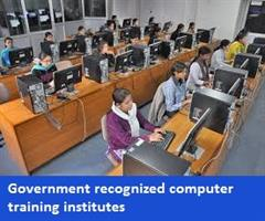 Government recognized computer training institutes in Bhopal, India