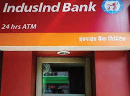 Indusind Bank ATM in Bhopal, India