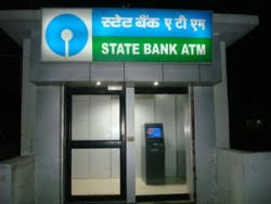 SBI ATM in Bhopal, India